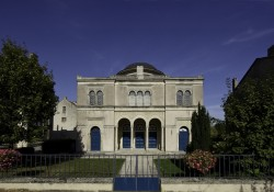 Le centre d'art contemporain - la synagogue de Delme